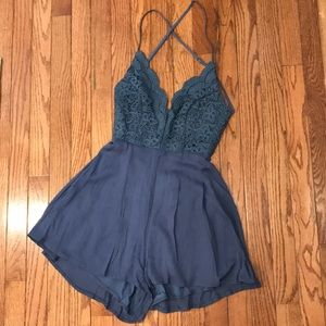 Lulus lace romper - only worn once!